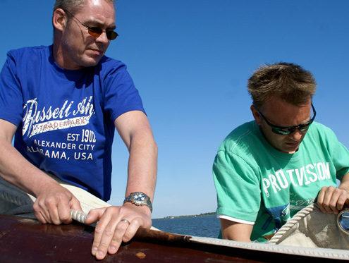 Aktiv segeln mit einer Gruppe