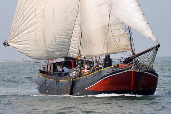 Betriebsausflug segeln in Holland