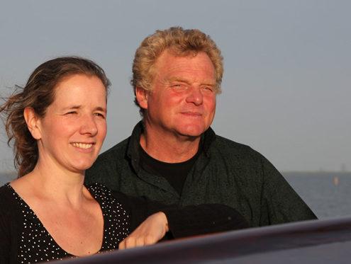 Mannschaft segelschiff Zuiderzee