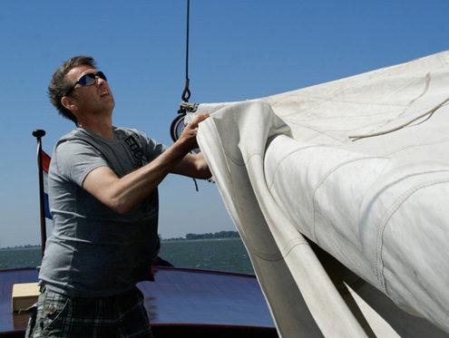 Mittag segeltörn Markermeer