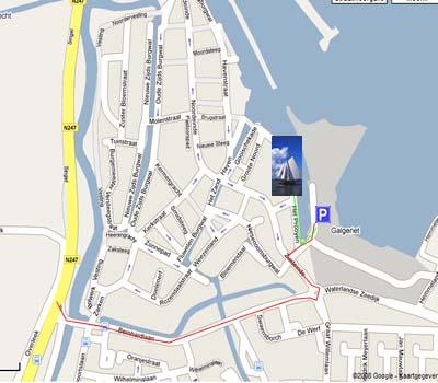 Route Liegeplatz Zuiderzee