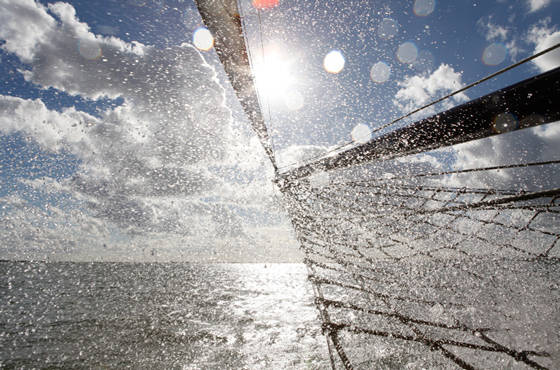 Ein Tag segeln auf dem IJsselmeer