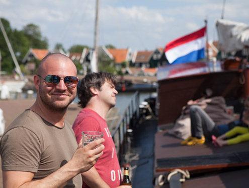 Teamevent segeln in Holland