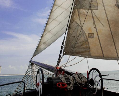 Dagje zeilen op het IJsselmeer